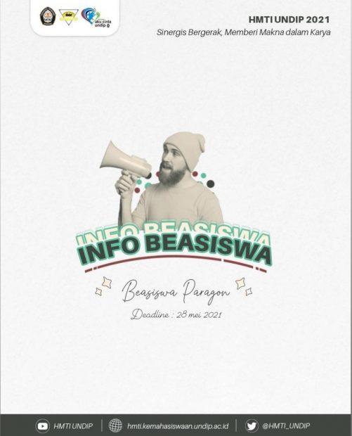 INFO BEASISWA 📚: BEASISWA PARAGON