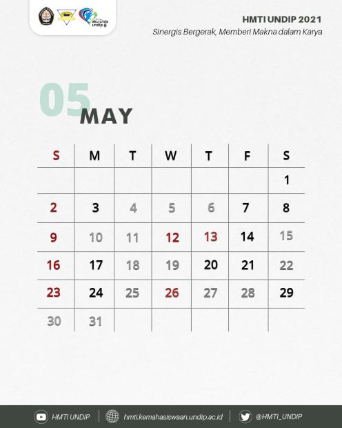 May TI-Calendar ! ✨💫