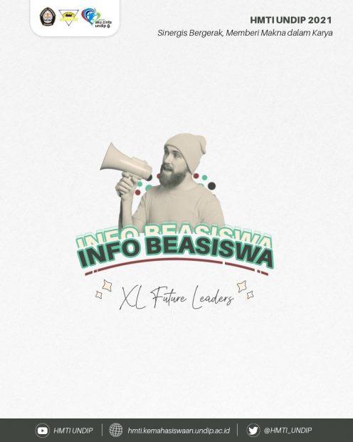 INFO BEASISWA 📚: BEASISWA XL FUTURE LEADERS