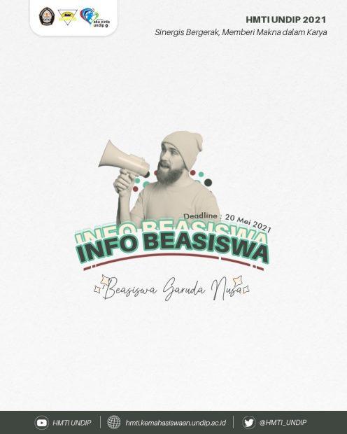 INFO BEASISWA 📚: GARUDA NUSA